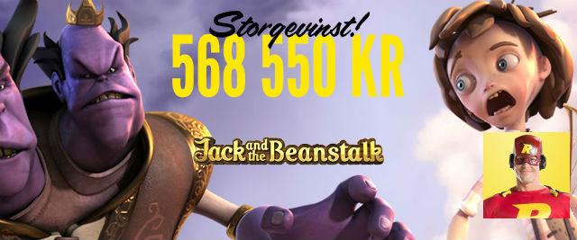 Jack and the Beanstalk - Rizk Casino